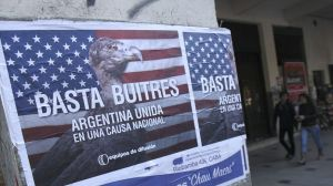 PROTEST CAMPAIGN IN ARGENTINA DUE TO VULTURE FUNDS